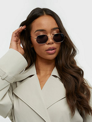 Solglasögon - NLY Accessories Hexagonal Retro Sunglasses