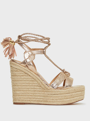 Pumps & klackskor - River Island Trap Stappy Tie Up Wedge