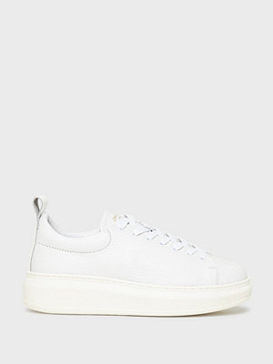 Sneakers & streetskor - Jim Rickey Club Tech-Tumbled Leather Vit/Vit