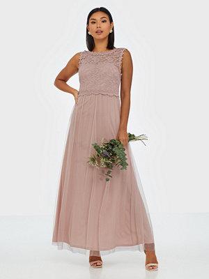Vila Vilynnea Maxi Dress - Noos Ljus Rosa