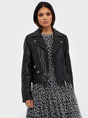 River Island Leather Geller Biker Jacket