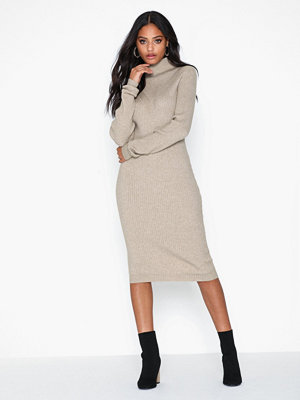 Vila Viandena Knit Funnel Neck L/S Dress