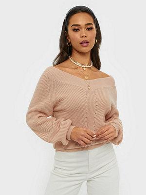 NLY Trend V Neck Shoulder Knit