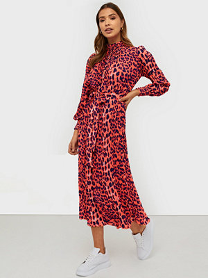 U Collection Long Sleeve Leopard Dress