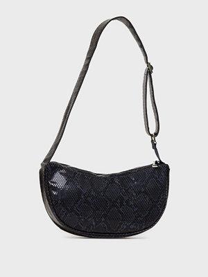 Becksöndergaard svart axelväska Snake Moon Bag