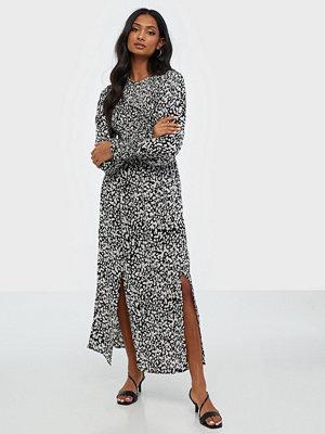 River Island Desert Shirred Smock Midi Dress