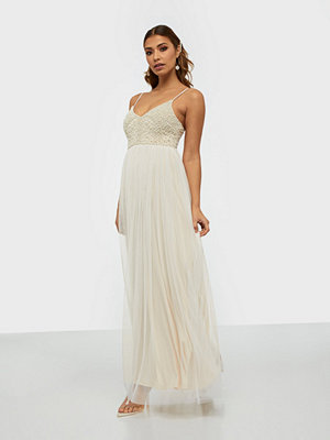 U Collection V Neck Maxi Dress
