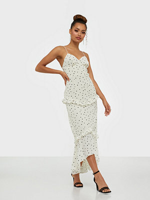 Glamorous Heart Print Midi Dress