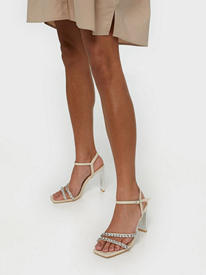 Pumps & klackskor - NLY Shoes Glitter Heel Sandal
