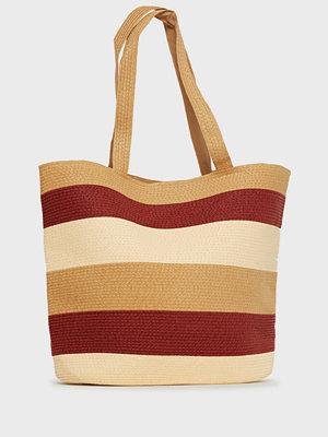 Vero Moda mönstrad axelväska Vmfreya Straw Bag