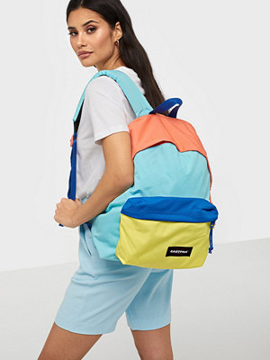 Eastpak omönstrad ryggsäck Padded Pak'R Blue