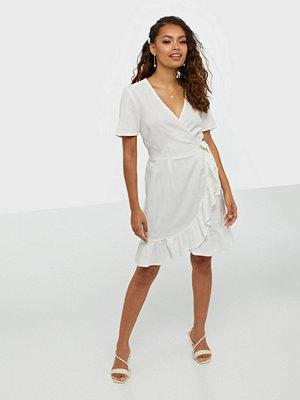 Vero Moda Vmhelenmilo S/S Wrap Dress Wvn Lcs