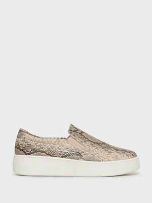 Duffy Snake Print Slip-on Sneaker