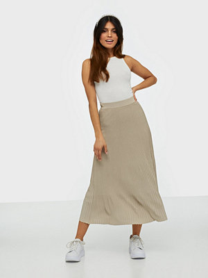 MICHAEL Michael Kors Pleat Midi Skirt