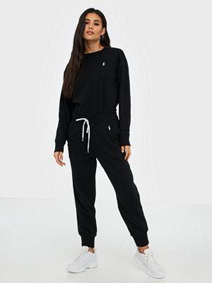 Polo Ralph Lauren svarta byxor Ankle Sweatpant