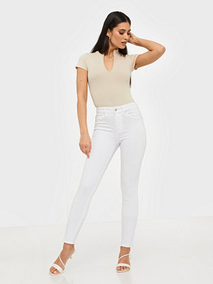 Only Onlblush Mid Sk Raw Ank REA0730NOOS