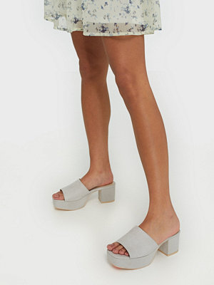 Pumps & klackskor - NLY Shoes Low Platform Mule Beige