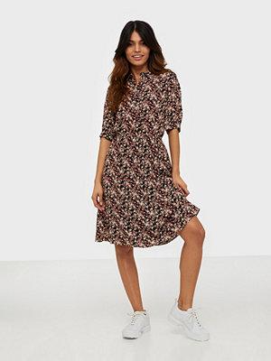 Calvin Klein Prt Ss Elastic Waist Shirt Dress