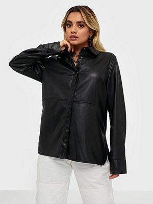 Gina Tricot Annie PU Shirt