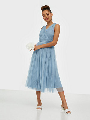 Anaya Wrap Midi Dress
