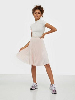Calvin Klein Sunray Pleat Midi Elastic Skirt