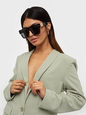 Solglasögon - River Island Tort Selena Update Visor Sunglasses