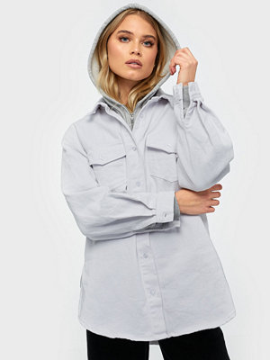 Missguided Superoversized Denim Shirt