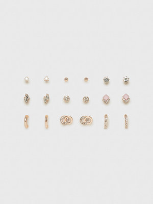 River Island örhängen Opal Square Earrings