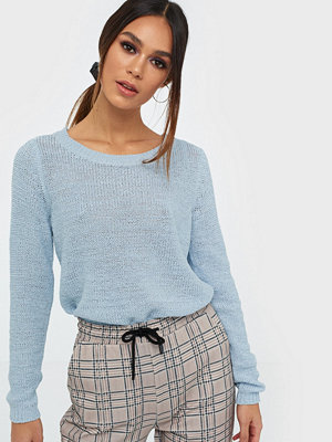 Only onlGEENA Xo L/S Pullover Knt Noos Cashmere Blue