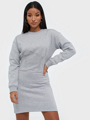 Missguided Oversized Corset Sweater Dress