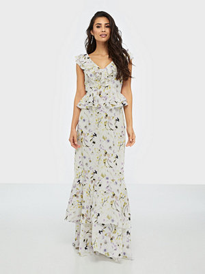 U Collection Flower Maxi Dress