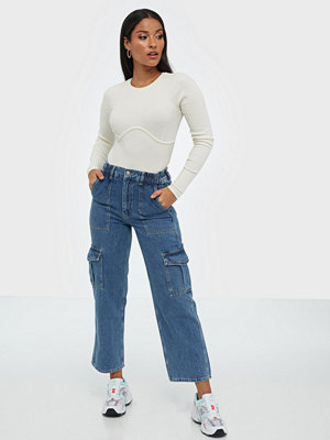 NLY Trend Loose Denim Cargo