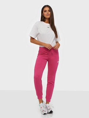 Nike rosa byxor W Nsw Essntl Pant Tight Flc