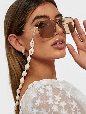 Solglasögon - NLY Accessories Seashell Sunglasses Chain