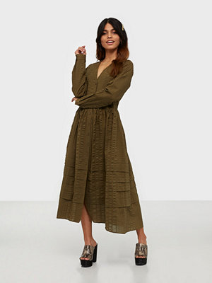 Envii Enyellow Ls Dress 6698