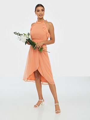 NLY Trend Frill Neck Midi Dress