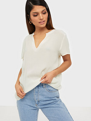 Only Onlmolly Ss V-Neck Wvn