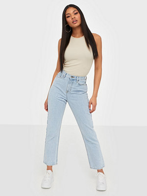Jeans - NLY Trend Cheeky Fit Straight Leg Denim