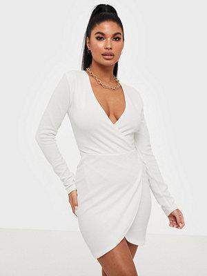 Ax Paris V Neck Crossover Dress