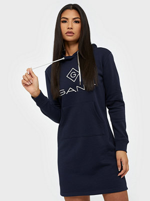 Gant D1. GANT LOCK UP HOODIE DRESS