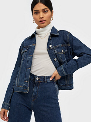 Selected Femme Slfstory Spruce Blue Denim Jacket W