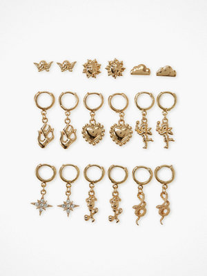 NLY Accessories örhängen 9 Pack Amore Earrings