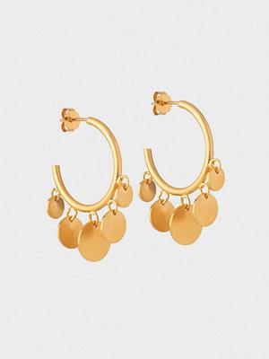 ENAMEL Copenhagen smycke Hoops, Coin Drops