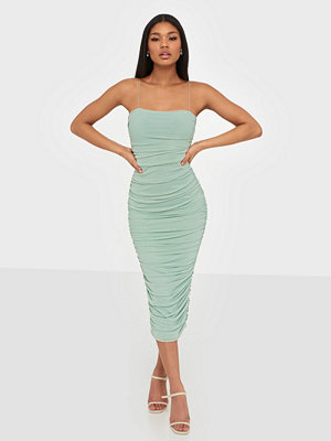 NLY One Mesh Ruched Dress