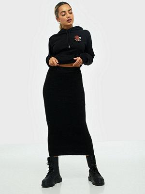 Kjolar - Pieces Pcmilla Hw Midi Knit Skirt D2D