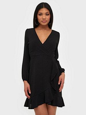 Ax Paris V Neck Flounce Dress