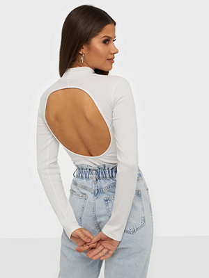 NLY Trend Open Back Rib Top