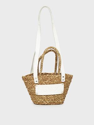NuNoo omönstrad axelväska Small beach bag