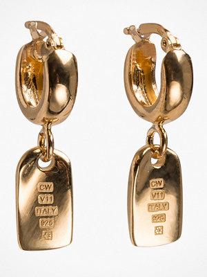 Cornelia Webb örhängen Folded Hoop Earring S