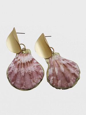 WOS örhängen Pink Shell